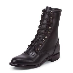 Justin   Kiltie Combat Lace Up Boots size 7